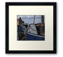 Port Bows Framed Print