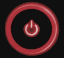 Red Power Button by STricker