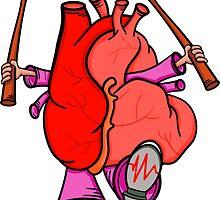 Heart Attack by piedaydesigns