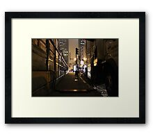 Boston. Framed Print