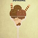 Chocolate Fudge Sundae by David Wildish