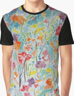 Abstract Field Graphic T-Shirt
