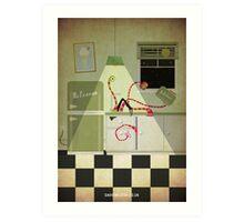 Kreepy Kitchen Art Print
