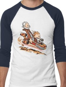 A Less Civilized Age Men's Baseball ¾ T-Shirt