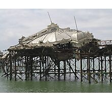 Sea of Destruction Photographic Print