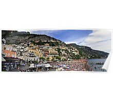 Positano Panorama, Amalfi Coast, Italy Poster