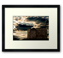 Cliffords Tower, York, photograph by Will Corder Framed Print
