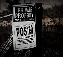 Private Property by Scott Mitchell