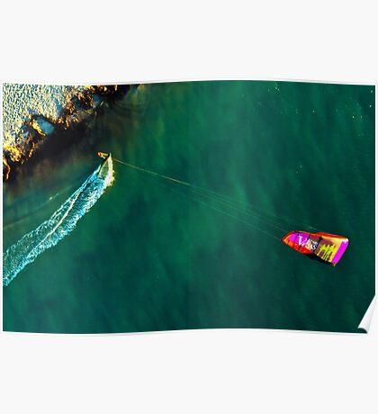 Kite Surfing in Western Australia #3 Poster