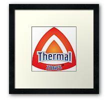 Thermal Zones Framed Print