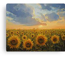 Sun Harmony Canvas Print