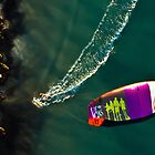Kite Surfing in Western Australia #4 by Al Edgar