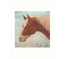 Pinto Pony Art Print