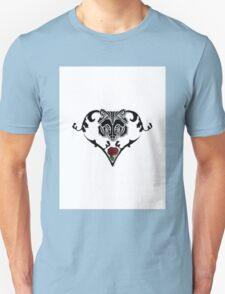 Wolf Design (with white background) Unisex T-Shirt