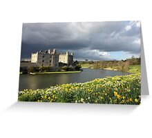 Leeds Castle in Kent United Kingdom Greeting Card