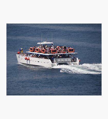 Catamaran-Excursion  Photographic Print
