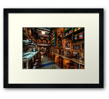 Bodega Monumental Tapes Bar Framed Print