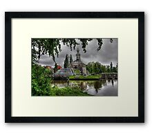 Holland..The City of Leiden .. an endless photo-source.. Framed Print