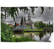 Holland..The City of Leiden .. an endless photo-source.. Poster