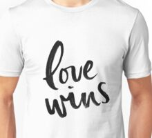 Love Wins  Unisex T-Shirt