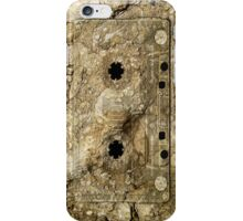 Stone Fossil Music Record Cassette Tape iPod/iPhone 4 Case iPhone Case/Skin