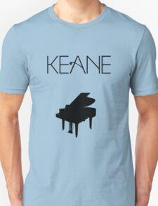 Keane - Logo & Piano T-Shirt