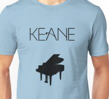 Keane - Logo & Piano Unisex T-Shirt