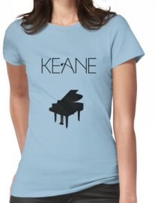 Keane - Logo & Piano Womens Fitted T-Shirt