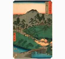 Scenic Japan landscape Unisex T-Shirt