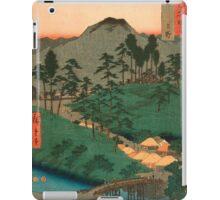 Scenic Japan landscape iPad Case/Skin