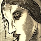 "LEONARDO DI VINCI'S "" STUDY OF A WOMEN "" by NEIL STUART COFFEY"