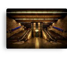 Metro Underground: Passeig de Gracia Canvas Print