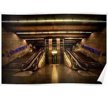 Metro Underground: Passeig de Gracia Poster
