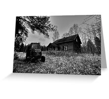 House Of Ghosts III Greeting Card