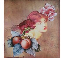 Peaches Remind Me of You Photographic Print