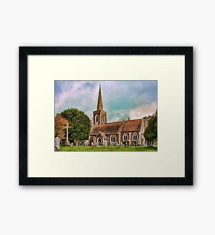 St Mary's Church Frittenden Framed Print