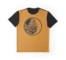 Tiger Tattoo - Black Graphic T-Shirt