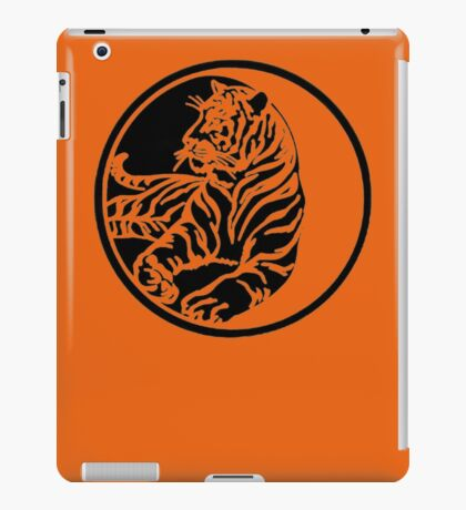 Tiger Tattoo - Black iPad Case/Skin