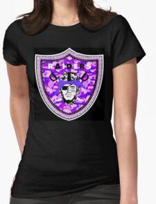 Raiders Black Womens Fitted T-Shirt