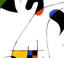 Joan Miró Sticker