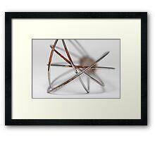 Kitchen Art: Whisk Framed Print