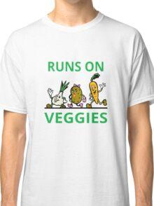 Runs On Veggies Classic T-Shirt