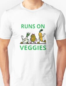 Runs On Veggies Unisex T-Shirt