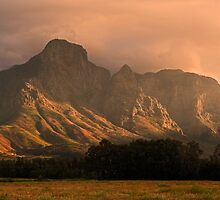Hottentot Holland mountains by Explorations Africa Dan MacKenzie