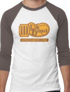 DK BARREL Men's Baseball ¾ T-Shirt