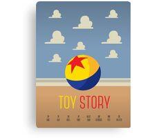Toy Story Minimalism Canvas Print