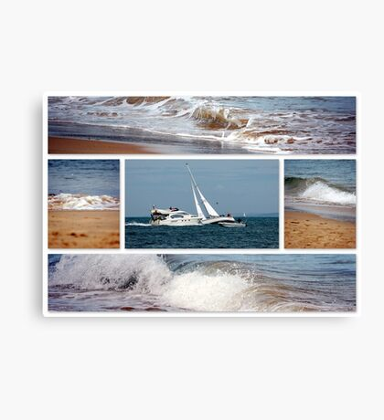 South Coast Canvas Print