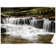Whispering Waterfall Landscape Poster