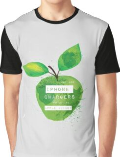 iPhone Chargers Graphic T-Shirt