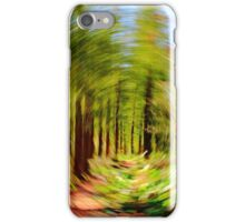 Abstract Woodland Path iPhone Case/Skin